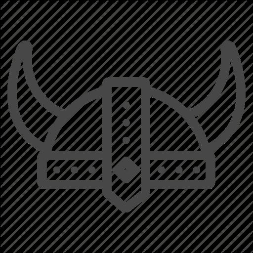 Antique, Helmet, Medieval, Old, Viking Icon