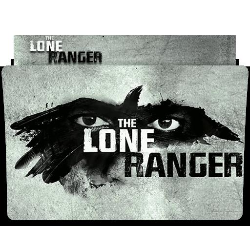 The Lone Ranger Folder Icon