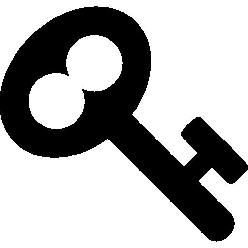 Vintage Key Outline