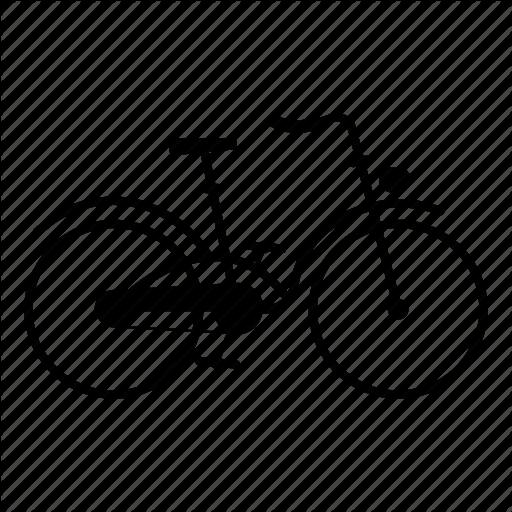 Bicycle, Bike, City, Citybike, Oldschool, Vintage Icon