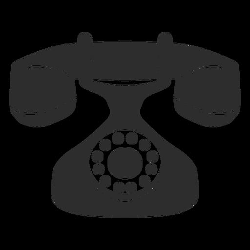 Vintage Rotary Phone Icon