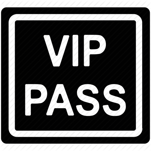 Security Pass, Vip Backstage Pass, Vip Card, Vip Pass, Vip Symbol Icon
