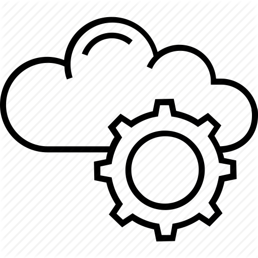 Cloud Computing, Cogwheel, Computing, Icloud, Virtual Machine Icon