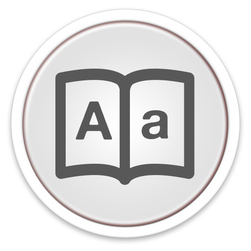 Dictionary Icon Free Of Orb Os X Icons