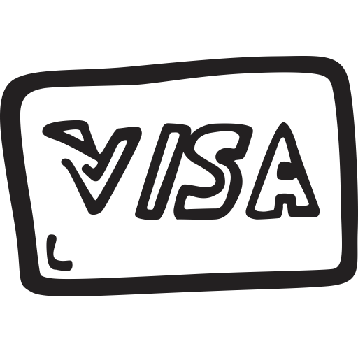 Shopping, Payment, Credit Card, Ecommerce, Money, Visa Icon
