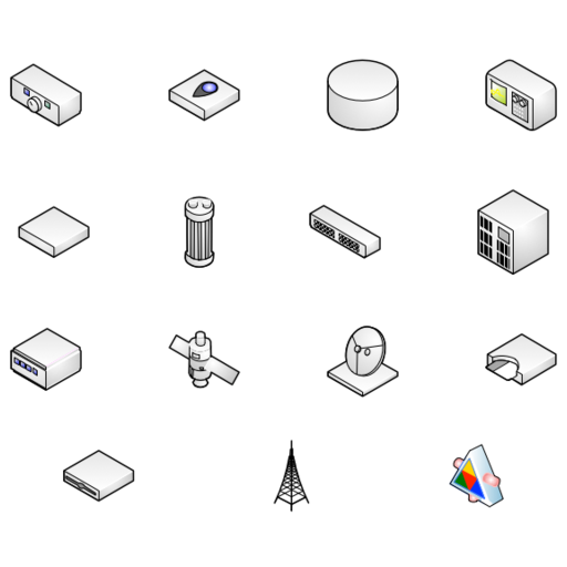 visio network icon at getdrawings com