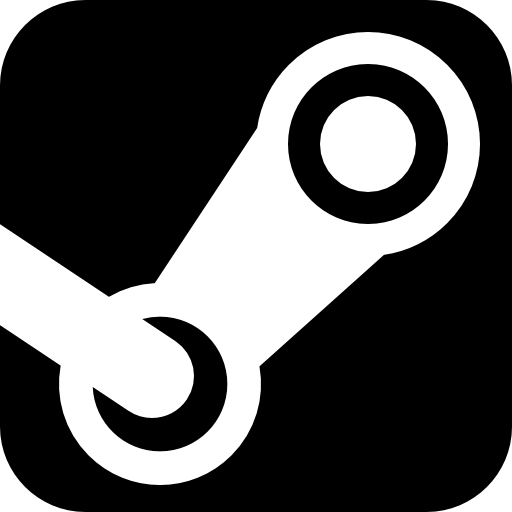 Steam Logo, Games Website Icons Free Download