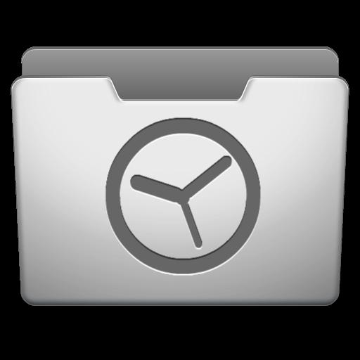 Aluminum Grey History Icon