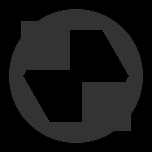 Shapes Gray Icon