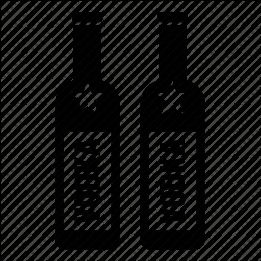 Alcoholic, Beverage, Bottle, Drink, Vodka Icon