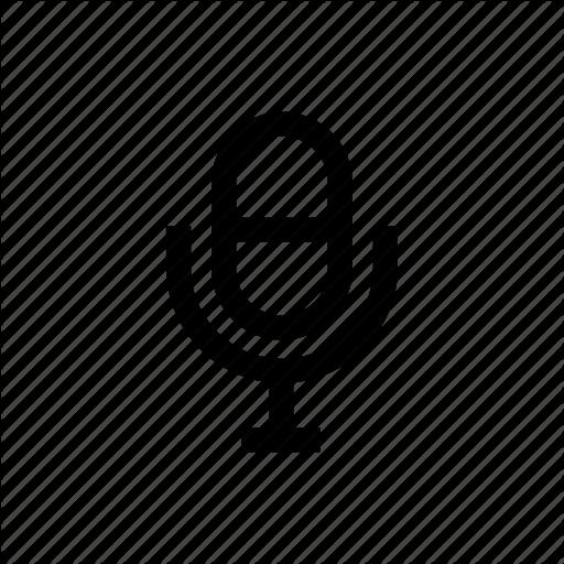 Mic, Microphone, Record, Voice, Voice Control Icon