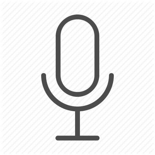 Mic, Microphone, Voice, Voice Control Icon