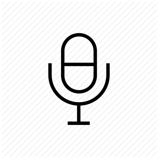 Mic, Microphone, Record, Roundedsolid, Voice, Voice Control Icon