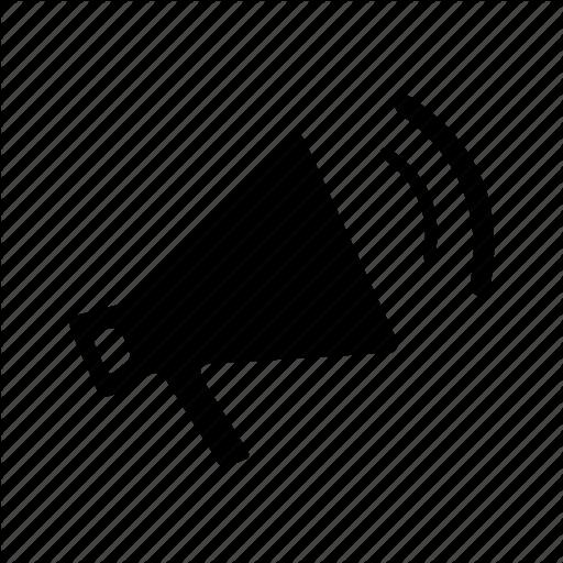 Loud Promotion Speaker Voice Icon