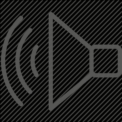 White Sound Icon Free Icons