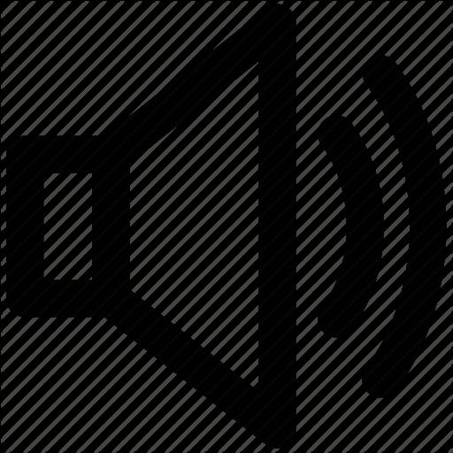 Audio, Loud, Noise, Sound, Speaker, Volume Icon