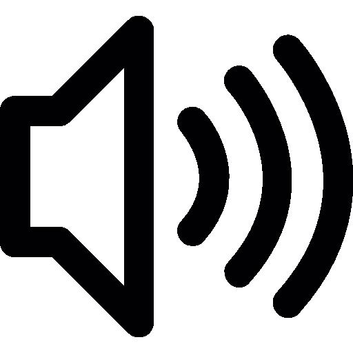 Loud, Volume Icon Free Of Dripicons