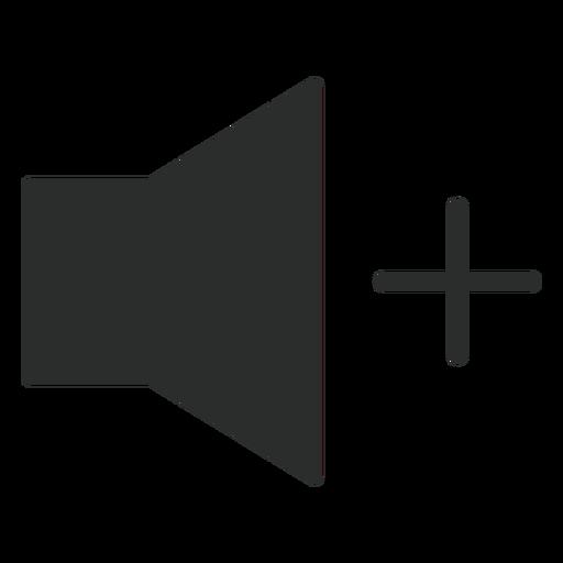 Volume Up Flat Icon