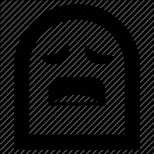 Emoji, Ghost, Sick, Vomit Icon
