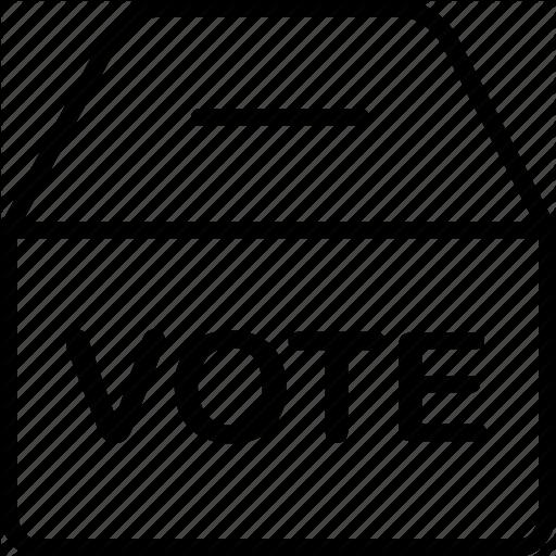 Ballot, Box, Election, Polling, Voting Icon