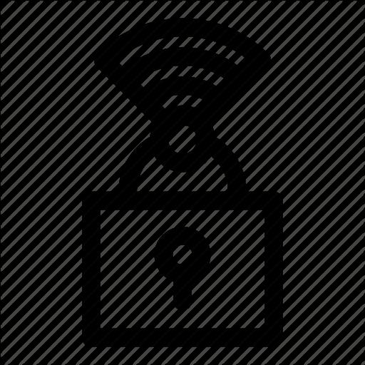 Internet, Lock, Protected, Setup, Wi Fi, Wifi, Wps Icon