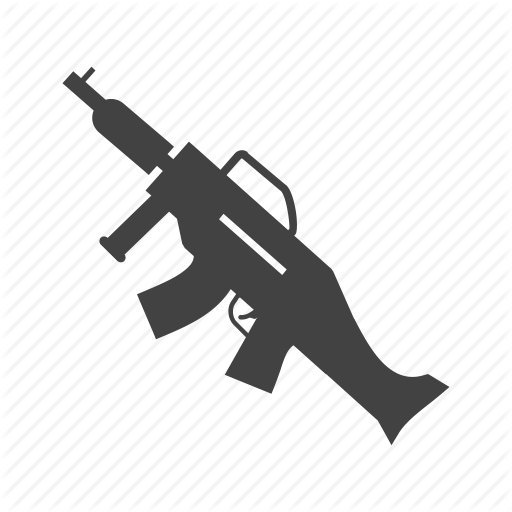Army, Danger, Gun, Machine, Military, Shot, War Icon