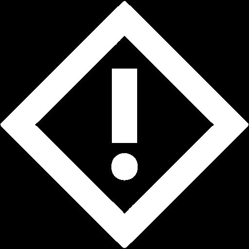 White Warning Icon