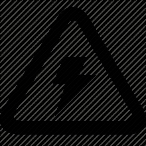 Vector Power Danger Symbol Transparent Png Clipart Free Download