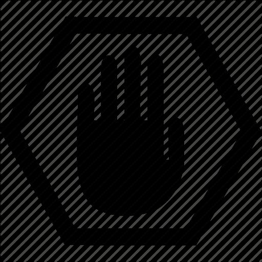 Alert, Stop, Hand, Warning, Forbidden Icon