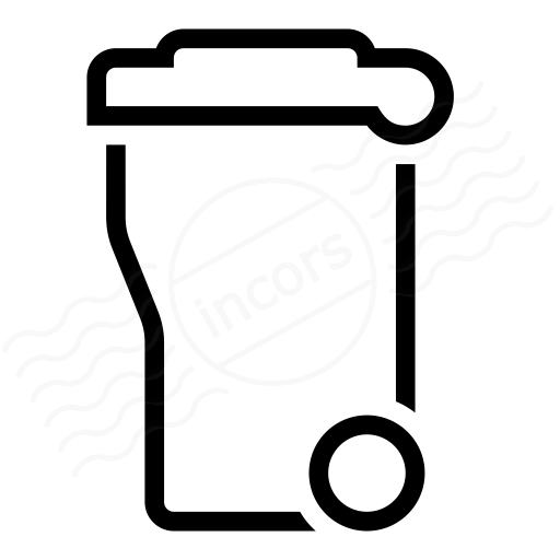 Iconexperience I Collection Garbage Container Icon