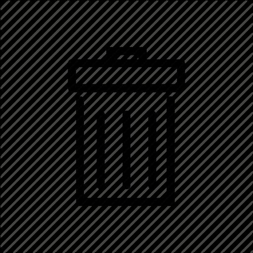 Inforamtion, Inforgraphic, Trash, Wastebasket Icon