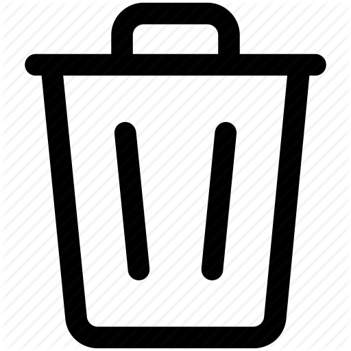 Trash Can Icon Transparent Png Clipart Free Download