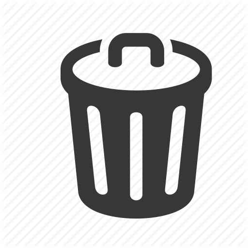 Bin, Trash Can, Waste Icon