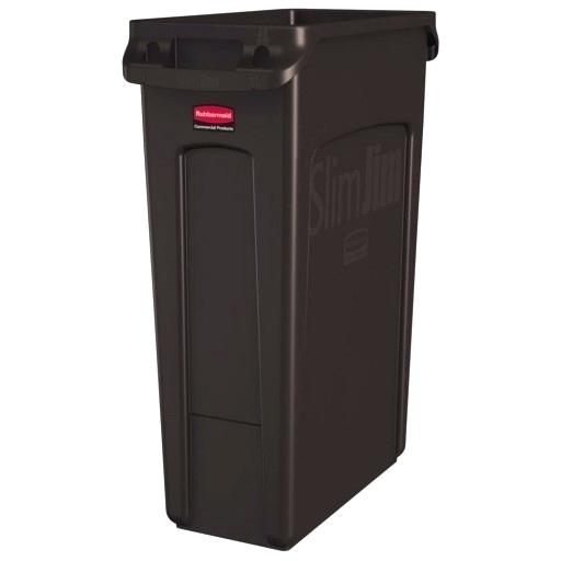 Brown Trash Can Meaning Slim Gal Plastic Wefreeonline