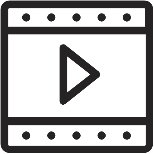 Footage, Fil, Video, File, Watch, Media, Movie Icon