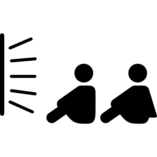 Couple Of Brothers Sitting Watching Tv Icons Free Download