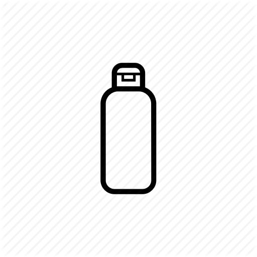 Bottle, Drink, Travel, Water Icon