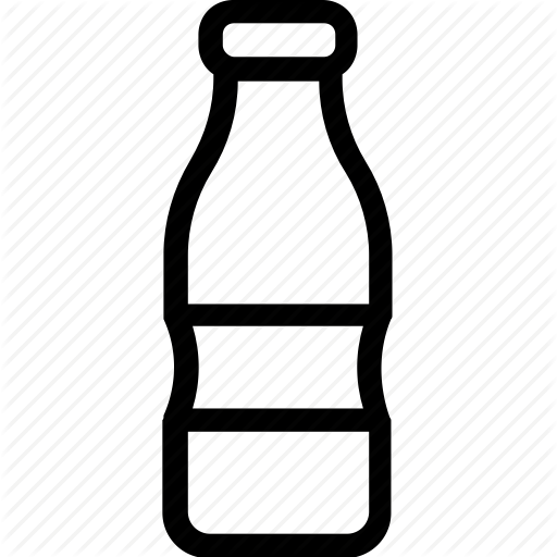 Bottle, Food, Liquor, Milk Bottle, Water Bottle Icon