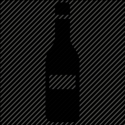 Bottle, Juice Bottle, Vinegar Bottle, Water Bottle Icon