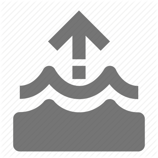 Up, Water, Water Level Icon