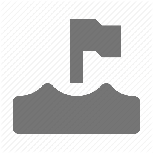 Flag, Level, Water, Water Level Icon