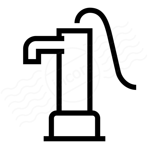 Iconexperience I Collection Hand Pump Icon