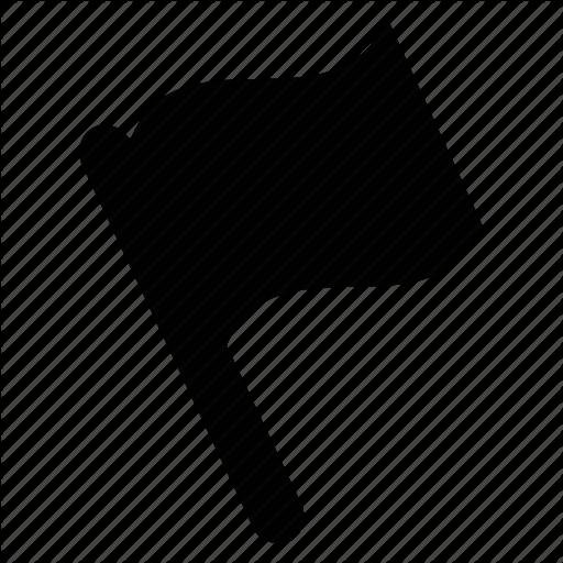 Flag, Flag Pole, Signal, Symbol, Waving Flag Icon