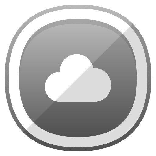 Cloud Icon Free Cute Shaded Social Iconset Designbolts