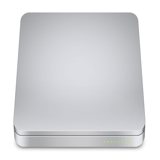 Removable External Icon Unibody Drive Iconset Komfort Zone