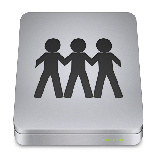 Server Icon Unibody Drive Iconset Komfort Zone