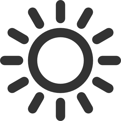 Sun Vector Icon Suncoat Vector Icons, Weather