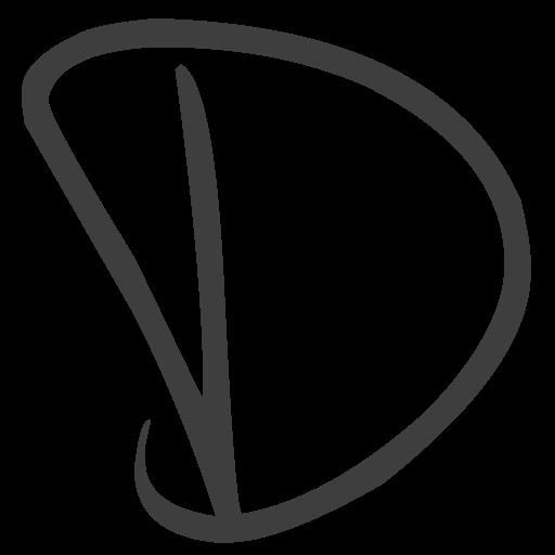 Cropped Dancing Dog Icon D Dancingdog Web Design