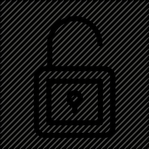 Design, Icon, Unlock, Vector Icon