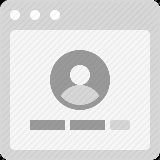 Form, Login, User Login, Web Form Icon
